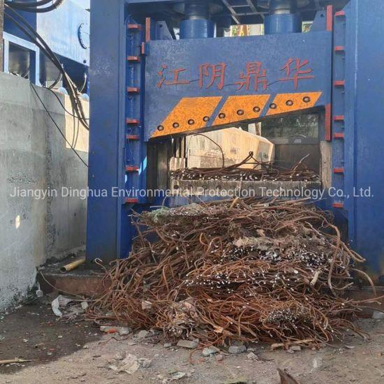 Hydraulic Metal Shear Machine Steel Sheet Plate Iron Recycling Shear Heavy Hydraulic Tire Shears