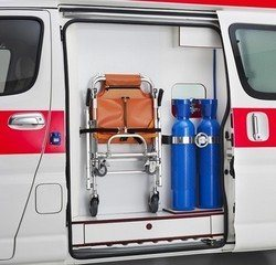 Standard Oxygen Aluminum Gas Tank for Ambulance pictures & photos