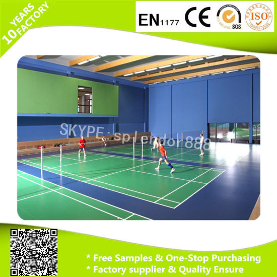 Colorful Soft Waterproof Commercial PVC Roll Flooring pictures & photos