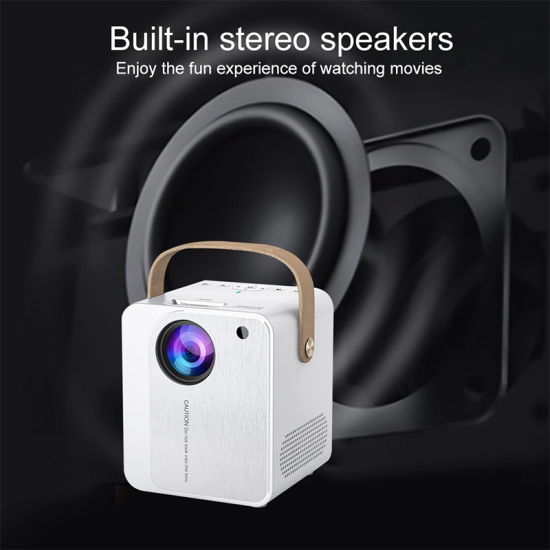 2020 Cheapest WiFi Projector for Phone Smartphone 1080P Full HD LCD LED Proyector
