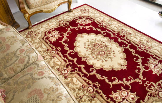 Luxury Hand Carved Wool Rug Mat Wr 004
