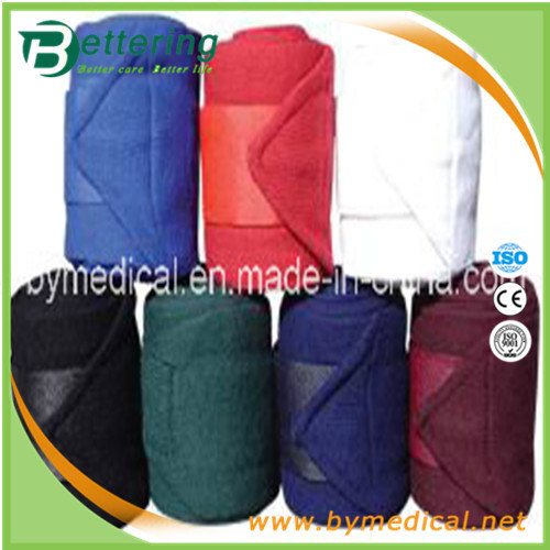 Polyster Combined Fleece Horse Leg Bandage with Various Colours pictures & photos