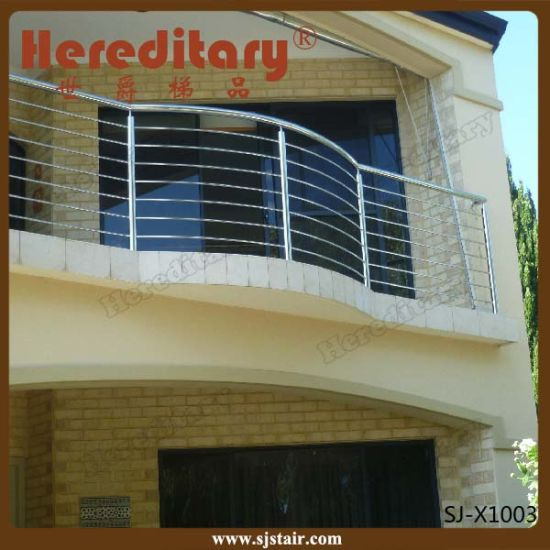 Customed Design 304 Stainless Steel Balcony Baluster (SJ-H1618) pictures & photos