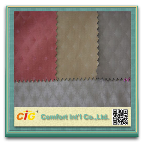 Good Polyester Micro Suede Fabric for Clothing Embossing Suede pictures & photos