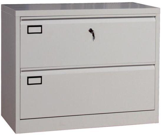 Anti Tilt Metal 4 Drawer Office Lateral Filing Cabinet