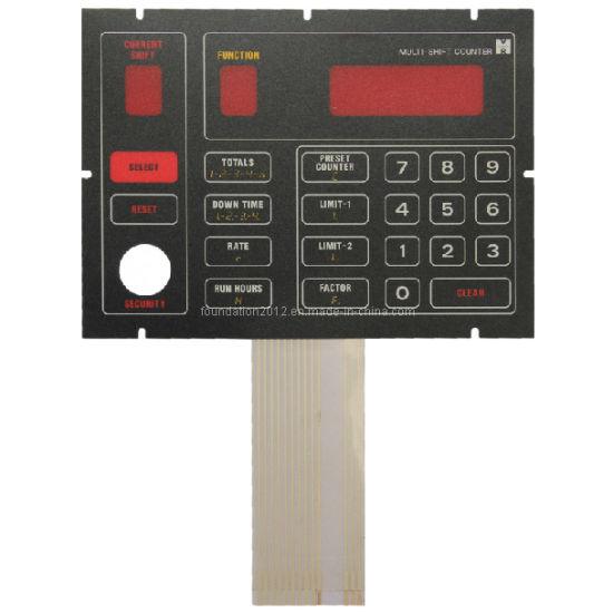 Silk Screen Printing Circuit Panel Graphic Overlay Membrane Switch