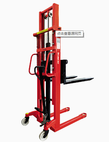 China Wholesale Manual Hydraulic Stacker 2t pictures & photos
