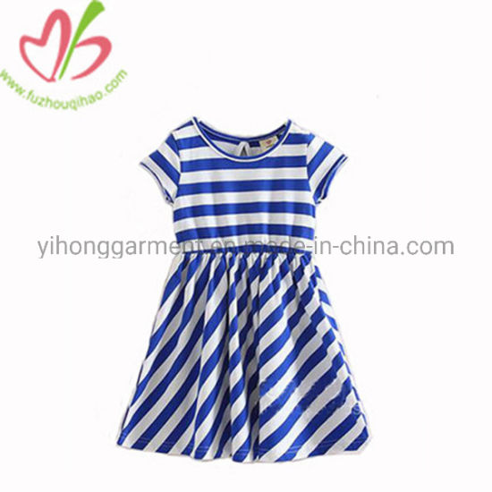 d54a015c4ae52 [Hot Item] Fashion Kids Clothes Children Little Girls Cotton Summer Dresses