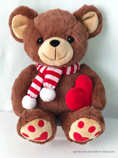 Brown Bear Christmas Toy Electric Stuffed pictures & photos