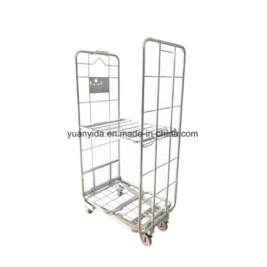 Warehouse and Supermarket Storage Stackable Roll Containers/Roll Pallet pictures & photos