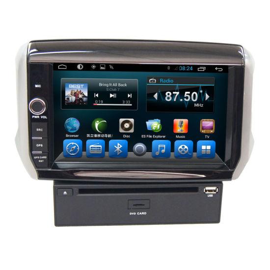 Android Car GPS Navigation DVD for Peugeot 208