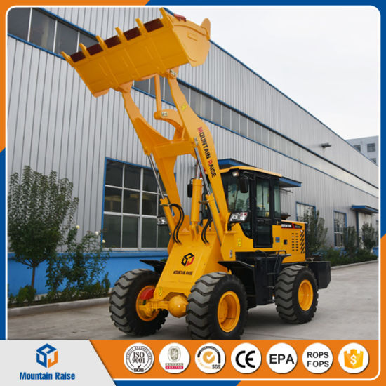 China 2 Ton Mini Loader Front Wheel Loader 4 Wd Construction Machinery pictures & photos