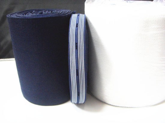 Factory High Quality Elastic Webbing / Garment Webbing