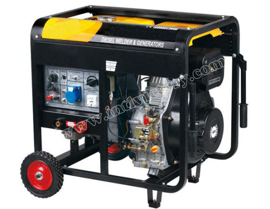 10kw Portable Diesel Welding Generator with Ce/CIQ/ISO/Soncap Approval pictures & photos