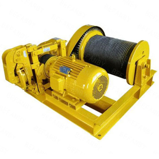 Best Selling Industry Use Electric Winch Supplier in China