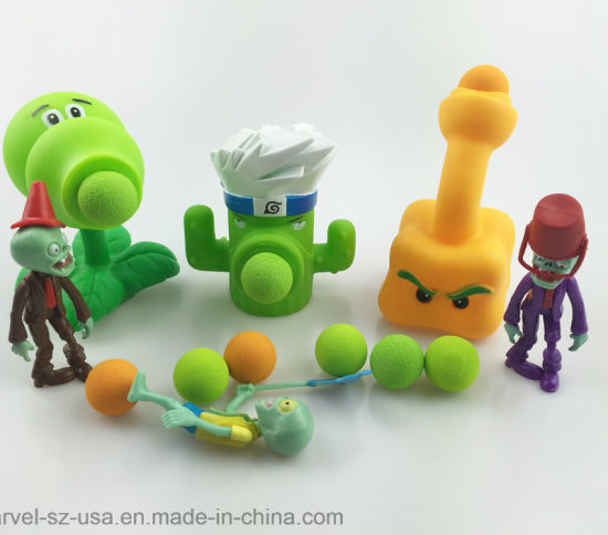 Pvz Plants Vs Zombies Peashooter PVC Kids Gifts Action Figure Model Toy