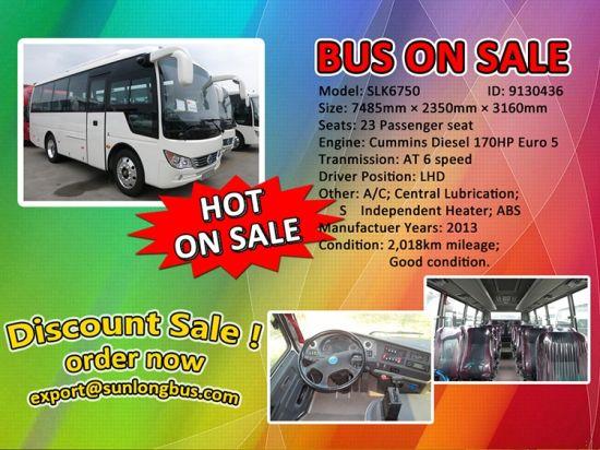 China Mini Passenger Bus Slk6750 Euro 5 At China Bus Minibus