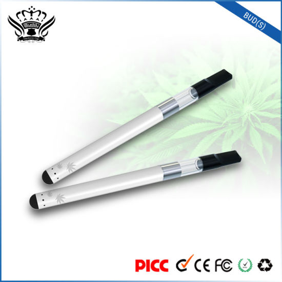 Wholesale Bud (S) High-Transparent Tank 0.5ml Cbd Cartridge Hemp Oil Vape Pen Vaporizer pictures & photos