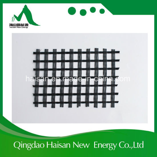 Bitumen Coated Fiberglass Geogrid 25/25~100/100kn/M pictures & photos