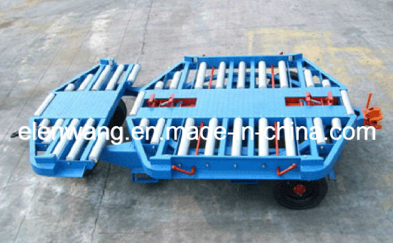 Airport Aviation Turntalbe Container Dolly Trailer for Ld3