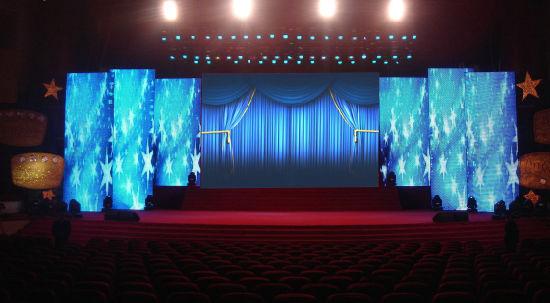 High Refresh Rate Indoor Rental LED Display