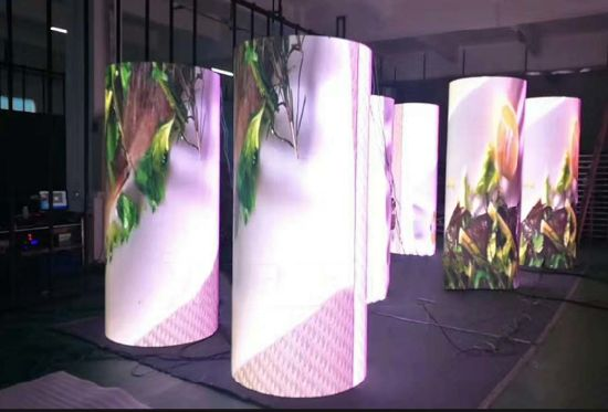 Flexible P2.5 Curved LED Screen Soft Modules Indoor LED Display