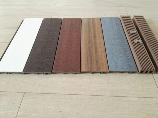 Wood Plastic Composite Outdoor Siding Sythenic Non-Slip WPC Wall Cladding