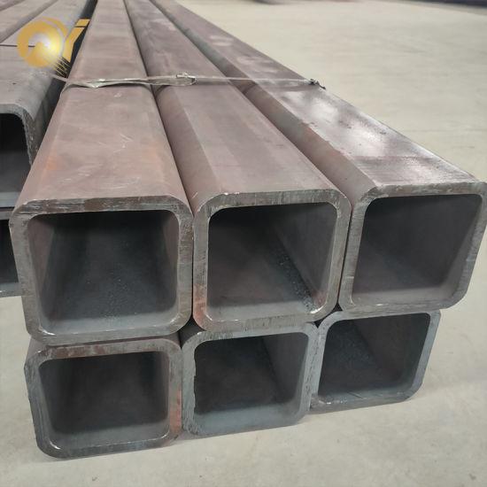 Shs Rhs ERW Black Carbon Square/Rectangular Steel Pipe