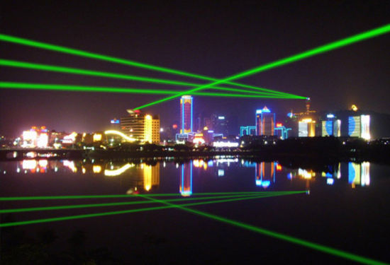 High Power 8W-50W Green Laser Show System Laser Light pictures & photos