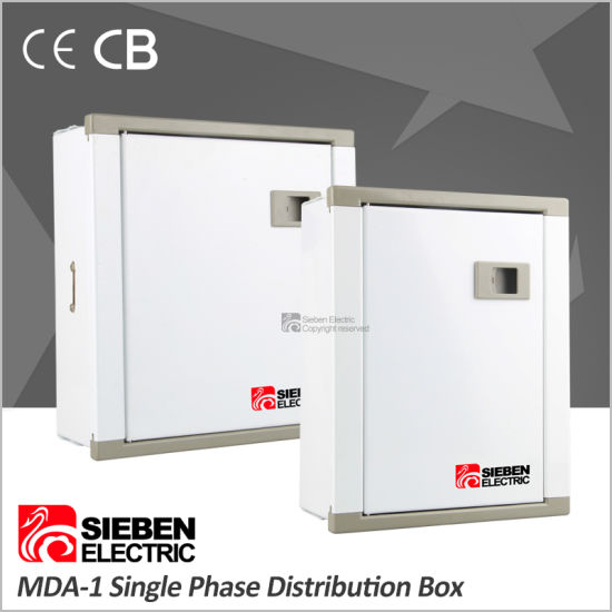 China Factory Direct Single Phase Electrical Metal Distribution Box ...