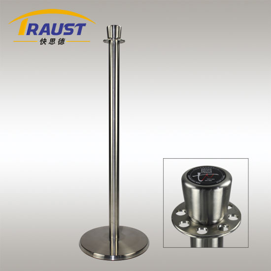 Crowd Control Velvet Rope Stand/ Stanchion for Exhibition (RP-35ID polish) pictures & photos