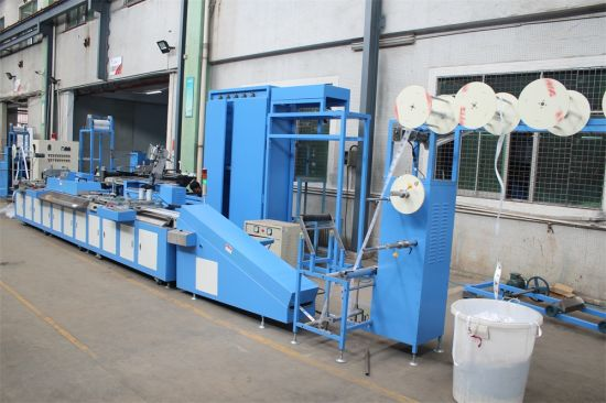 Apparel Label/Satin Label Automatic Screen Printing Machine for Sale pictures & photos