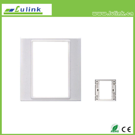 Smart Home 86 Type White Ivory Wall Plate Frame