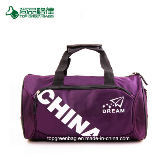 5c345e59f Promotion Customize Easy Carry Polyester Duffel Bag Sport Travel Bag  pictures & photos