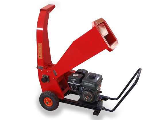 Gasoline Engine Drum Wood Crusher