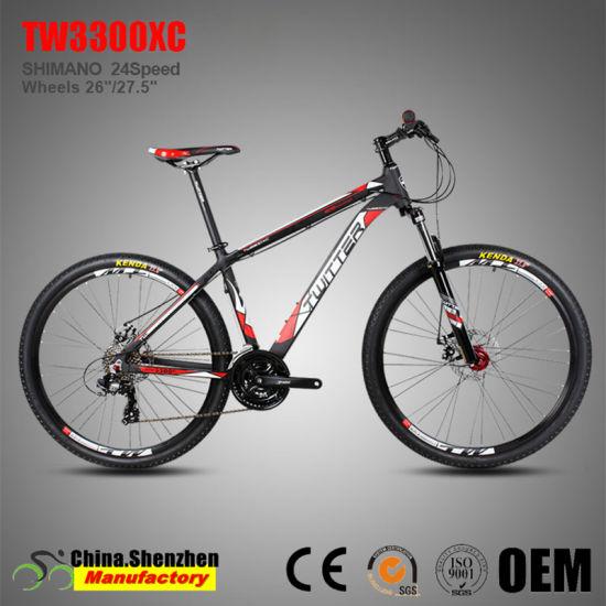 26er 24speed Aluminum Mountian Bike 27.5er with Suspension Fork
