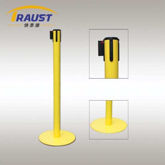 High Quality Queue Line Control Barrier, Retractable Belt Stanchions
