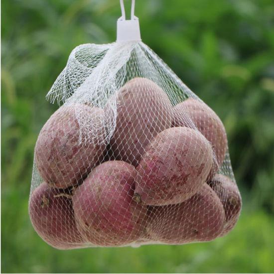 Plastic Tubular Mesh Bag for Vegetable and Fruit