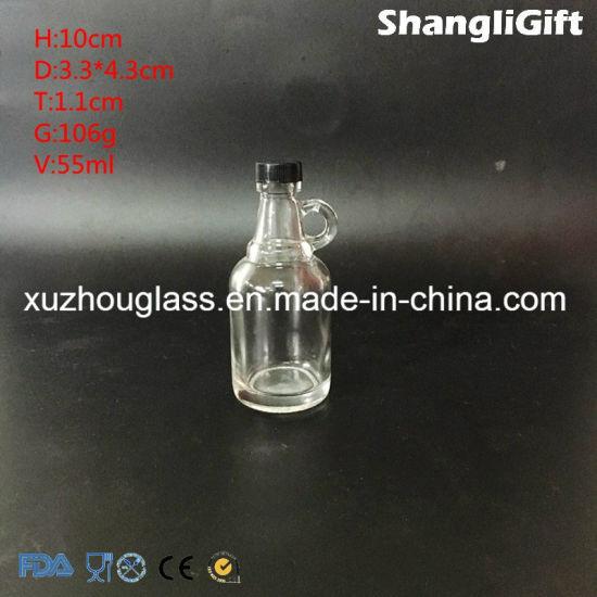 531cb50530b China Glass Liquor Bottles with Handle 40ml - China Glass Liquor ...