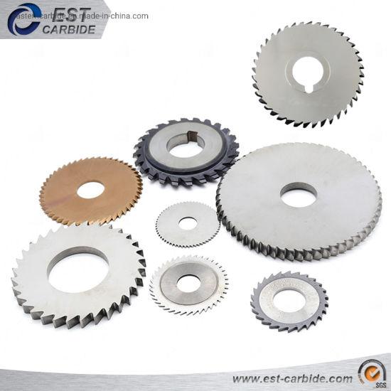 Solid Carbide Circular Saw Blade for Metal Cutting