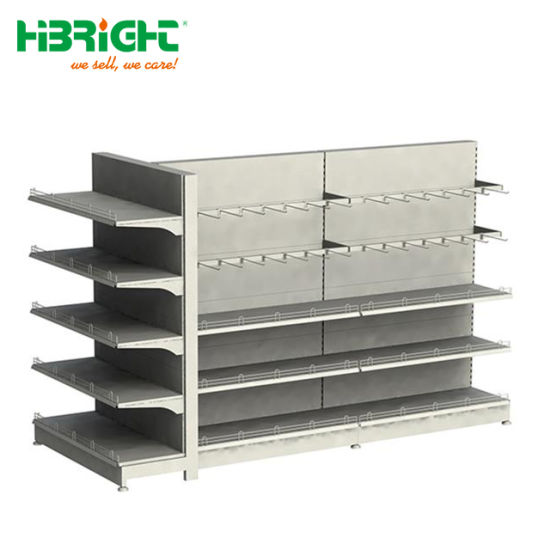 Retail Philippines Supermarket Shelf Display Rack Gondola Shelving pictures & photos