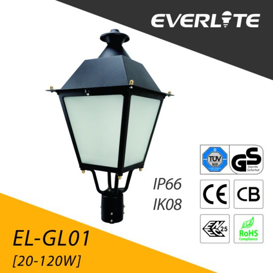 China Everlite Outdoor 80w Led Post Top