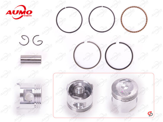 Motorcycle Spare Parts Piston and Rings for 139fmb Jh50 50cc Engine pictures & photos