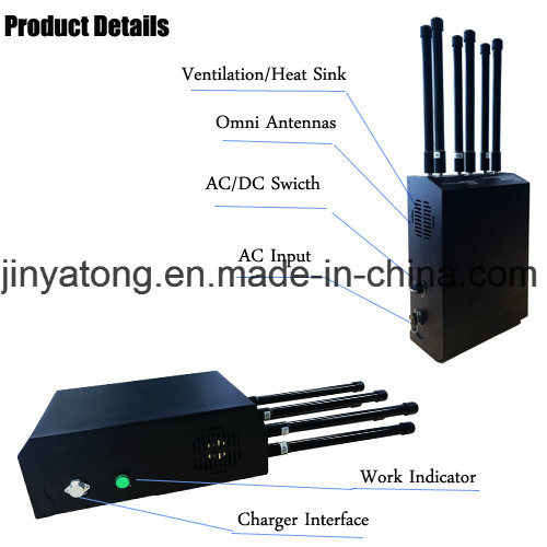 Manpack Backpack Light-Weight High Power 3G 4G Cell Phone Jammer pictures & photos