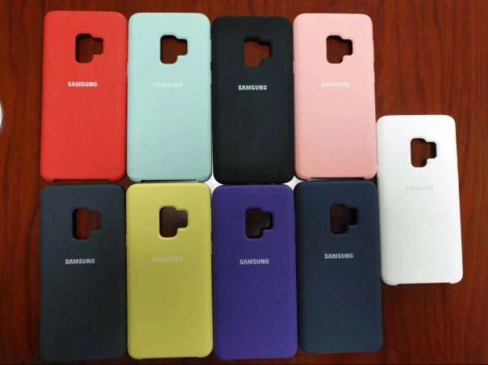best website e2aa3 c96ce Original Mobile Phone Silicone Case for Samsung S9/S9 Edge
