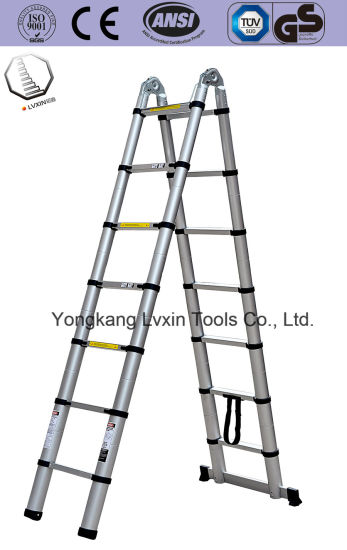 Multi-Purpose Telescopic Ladder with 4.4m Length