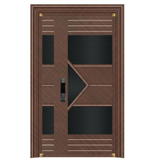 High Quality China Manufacturer Korean Stainless Steel Interior Security Doors