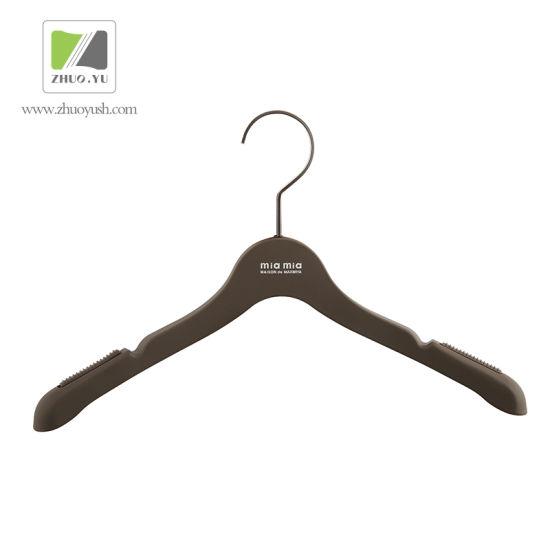 Ex-Factory Price Plastic Garment / Cloth Hangers for Wedding Dress