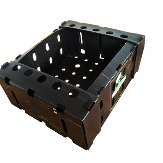 Electronic Components PP Plastic ESD Antistatic Turnover Boxes Cases