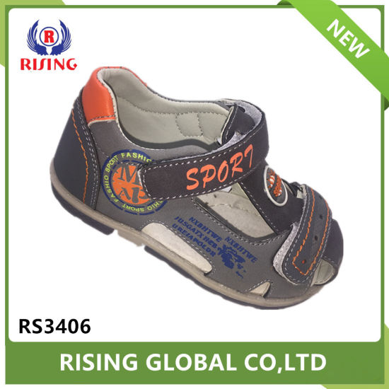 China Name Brand Kids Shoes Magic Type Boy Sandals China Sandal